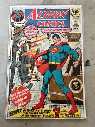 Action Comics #405 Silver Age Comic