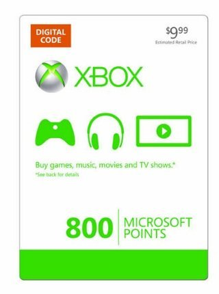 How to get 800 microsoft points for xbox 360 free