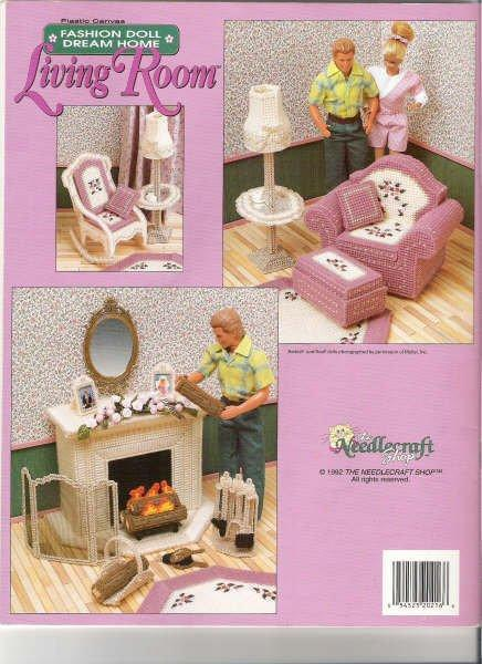 Free Barbie Plastic Canvas Furniture Pattern