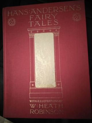 Hans:Anderson Fairy Tales Find Binding HardCover Near Mint Condition
