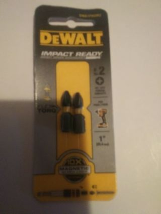 Three Pack Lot Dewalt Bits--Brand New
