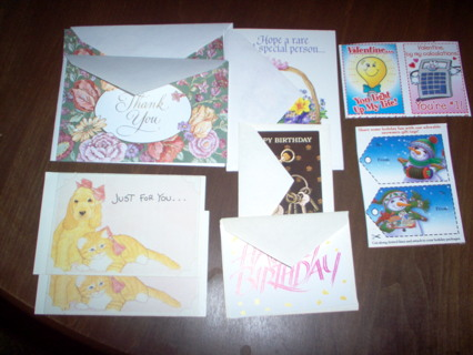 Greeting cards lot (11)