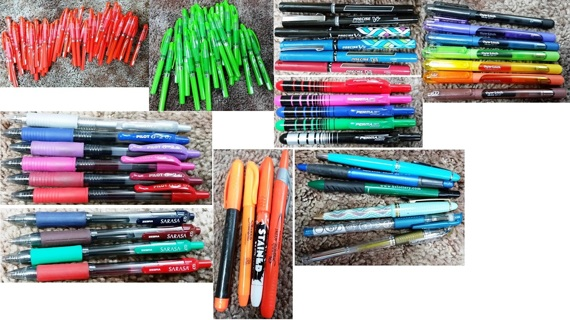 HUGE PEN LOT - Over 3lbs of Pens!