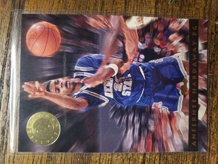 1993 Classic Anfernee Hardaway Images College Promotional Card