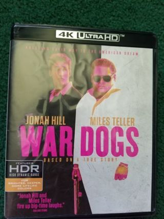 War dogs uv