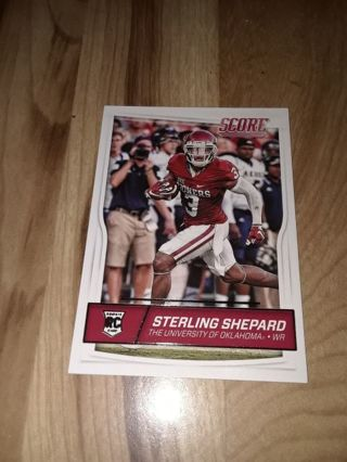 Free Sterling Shepard Nfl Rc Sports Trading Cards