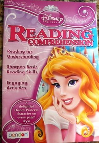 Disney Princess..Reading Comprehensive Reading and workbook