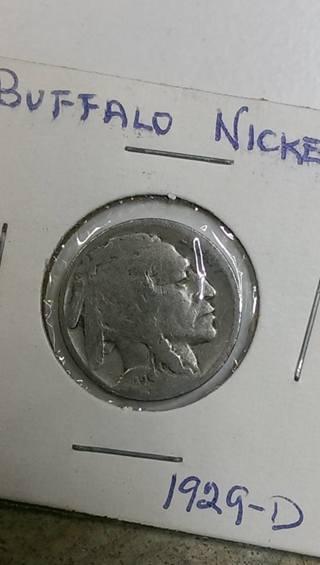 1929-D Buffalo Nickel 4.42