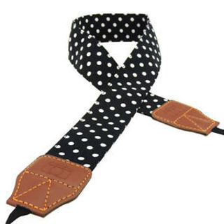 Universal For SLR/DSLR Neck Strap Retro Polka Dot Pattern Camera Shoulder Belt