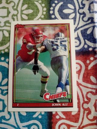 Topps card#131 John Alt