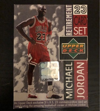 1999 Upper Deck Michael Jordan Retirement 23 Card Set - Excellent Condition