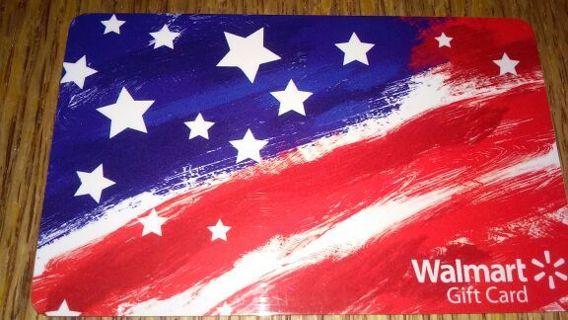 Walmart $10. GIFT CARD HAPPY 4TH OF JULY
