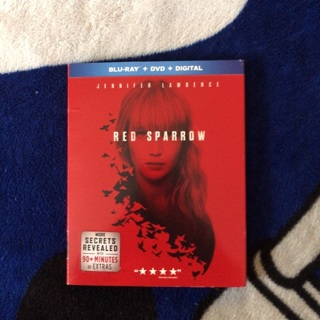 Red Sparrow (Blu ray & DVD)