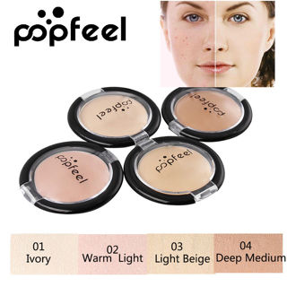 POPFEEL Full Coverage Cream Face Contouring Makeup Silky Smooth Texture 4 Colors