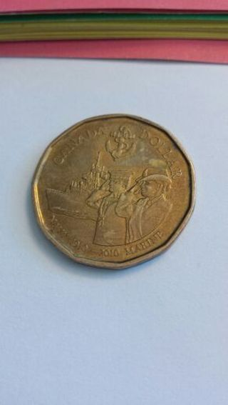 Canadian one dollar coin