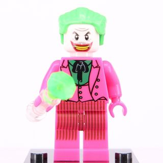 New Joker Minifigure Building Toy Custom Lego