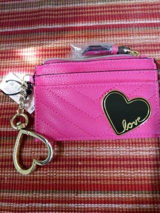 Victoria's Secret Heart/Love card case.