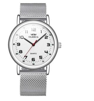 Men's Watch Wrist Watches Analog Quartz Waterproof Stainless Steel Mesh Band