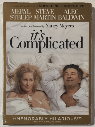 It's Complicated (DVD, 2010) Movie with Slipcase - Brand New Factory Sealed