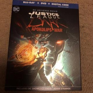 Movie code for DC Justice League Dark Apokolips War Digital HD