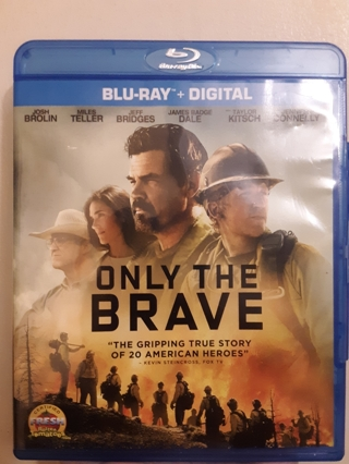 NEW ONLY THE BRAVE BLU-RAY + DIGITAL