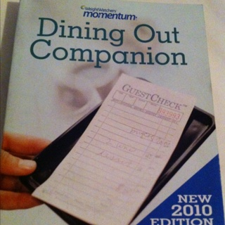 Weight Watchers Dining Out Companion 2010