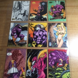 The Maxx 1996 9 Cards!