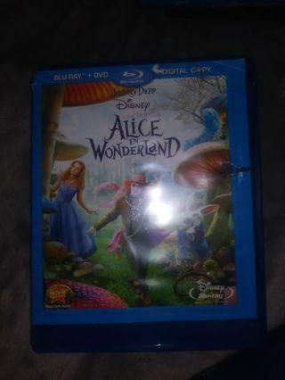 Disney's Alice in wonderland Bluesy starring Johnny Depp