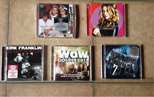CDs: Destiny's Child, Kirk Franklin, Bow Wow, Kelly Clarkson