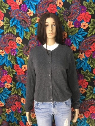 Plain Solid Cardigan Sweater American Knitworks