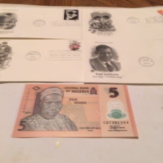 MIXED AUCTION 4 US FDC UNADDRESSED/ FOREIGN CURRENCY