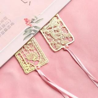 1 Pieces Classic Famous Place Bookmark Stationery School Supplies Metal Bookmarks for Books Marker