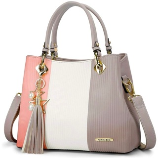 Handbags for Women with Multiple Internal Pockets in Pretty Color