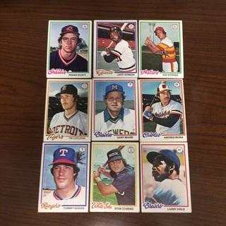 1978 Topps Baseball Lot