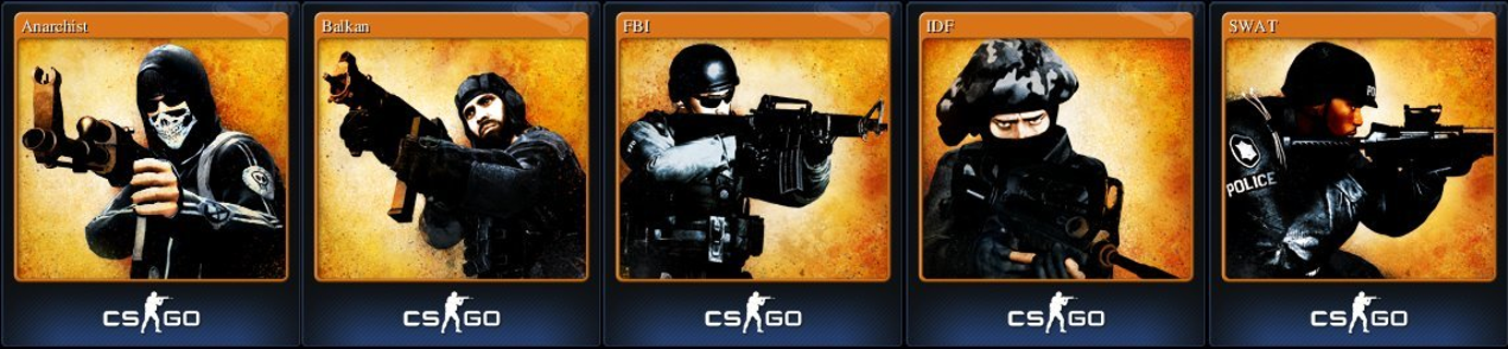 Free: A set of trading cards (CS:GO) (Steam) - Video Game