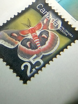 2 Canada Stamps