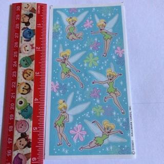 Tinkerbell Vintage Hallmark Sticker Sheet #3 NEW