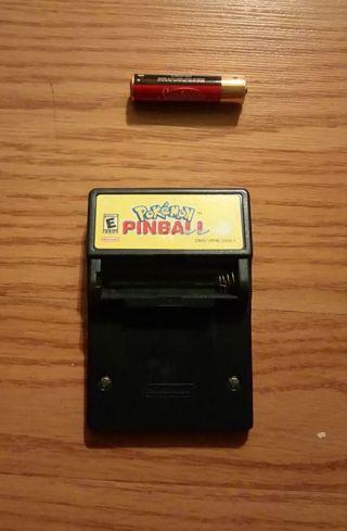 1999 Gameboy Color Pokémon Pinball Game