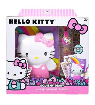 "❤ Hello Kitty ""Create Your Own Squishy Diary"" Set Kit, Officially Licensed product ❤"