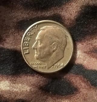 1964-D Roosevelt Dime 90% silver