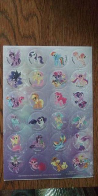 My Little Pony Stickers- New : )
