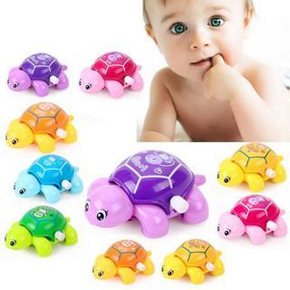 Cute Baby Kids Animal Tortoise Turtle Education Toys Clockwork Wind-up Funny Toy