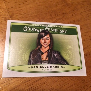 2019 Goodwin Champions - [Base] #62  Horizontal - Danielle Harris
