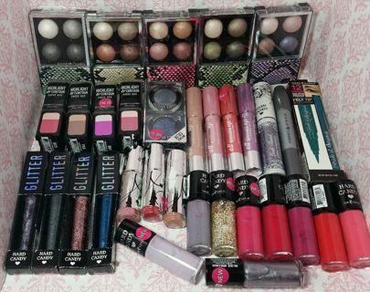 Lot of 100 ~Hard Candy Wholesale Makeup Lot