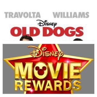 DISNEY MOVIE REWARDS CODE ONLY, OLD DOGS DVD