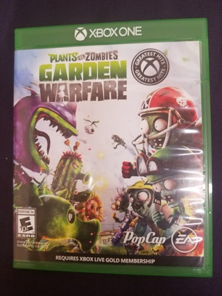 Plants vs. Zombies Garden Warfare 2 Video Game - Xbox One with Case