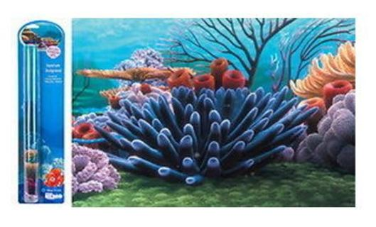 1 NEW Penn Plax Finding Nemo Coral Reef Fish Tank Background