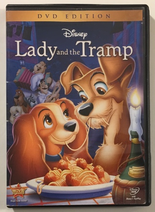 Disney Lady and the Tramp DVD Edition Movie - Mint Disc!