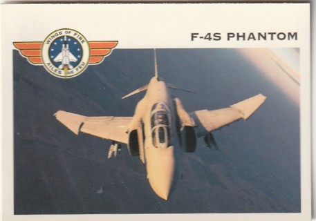 Vintage Collector Card: Wings of Fire: F-4S Phantom