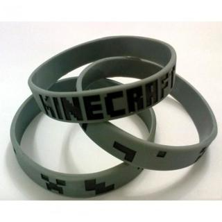 1 BRAND NEW Minecraft Game Wristband Bracelet silicone video game jewelry gin